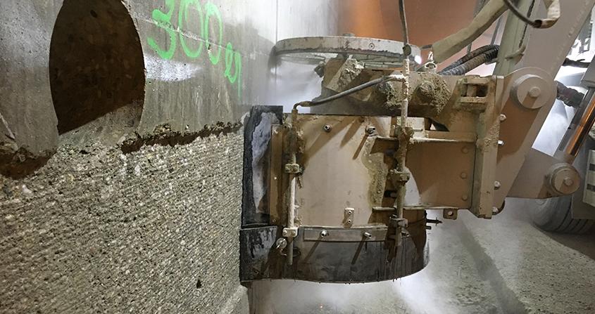 Fresado-Vertical-de-estructuras-de-hormigón-y-hastiales-de-túneles-Servicio-Roeco-2