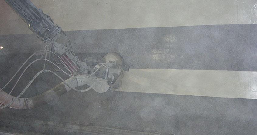 ROECO-5-Foto Hidrosaneo Decapado de superficies de hormigón